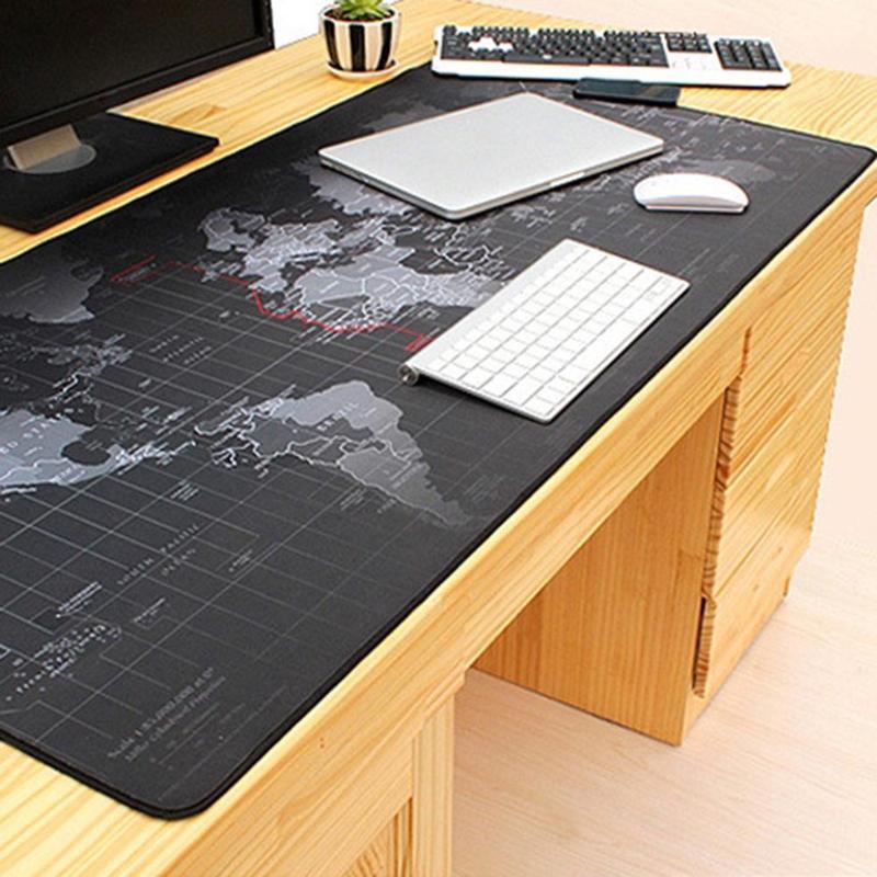 40x90 см Экстра большой коврик для мыши мир коврик для мыши Противоскользящий натуральный каучук игровой стол коврик для мыши с блокировкой к...