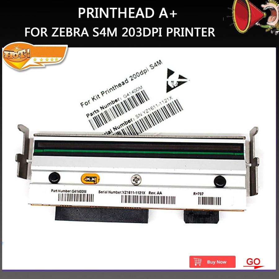New A+ Compatible S4M Z4M Printer Barcode Thermal Print head For Zebra S4M Z4M printer 203dpi