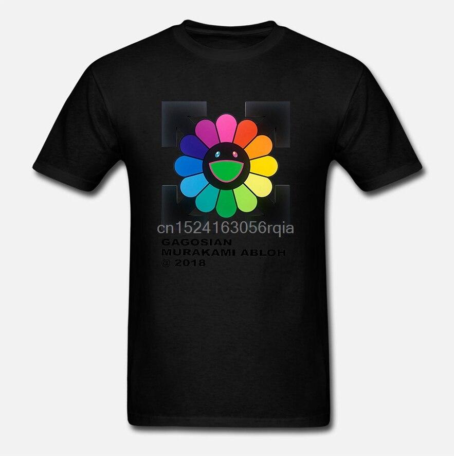 Camisetas raras de verano para hombre Virgil Abloh X Takashi Murakami Future History Lil Peep Xxxtentacion