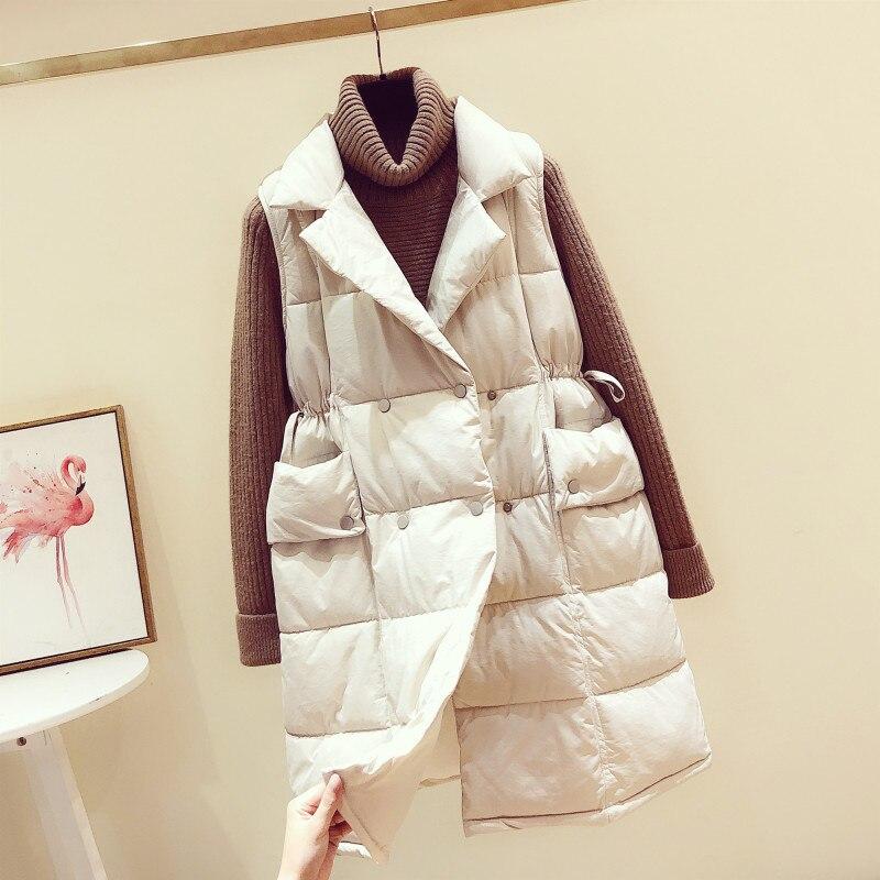 Весенне-зимний жилет, женский жилет 2021, женский жилет без рукавов, куртка, теплый длинный жилет, пальто, женские приталенные пальто