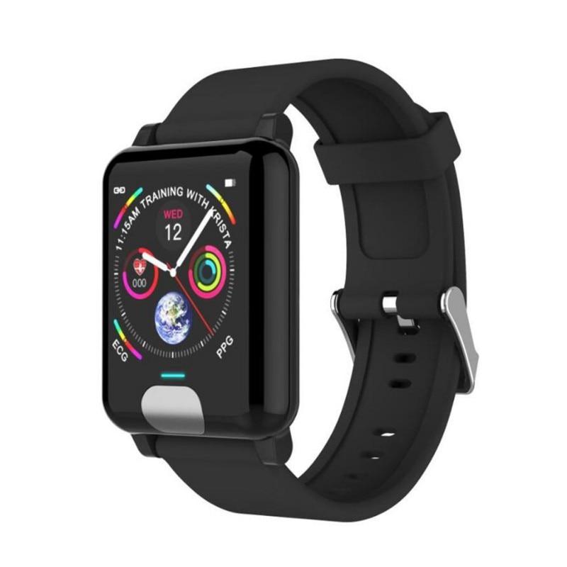 Pulsera inteligente 3d de UI dinámica de presión arterial, pulsera inteligente de Fitness, reloj masculino