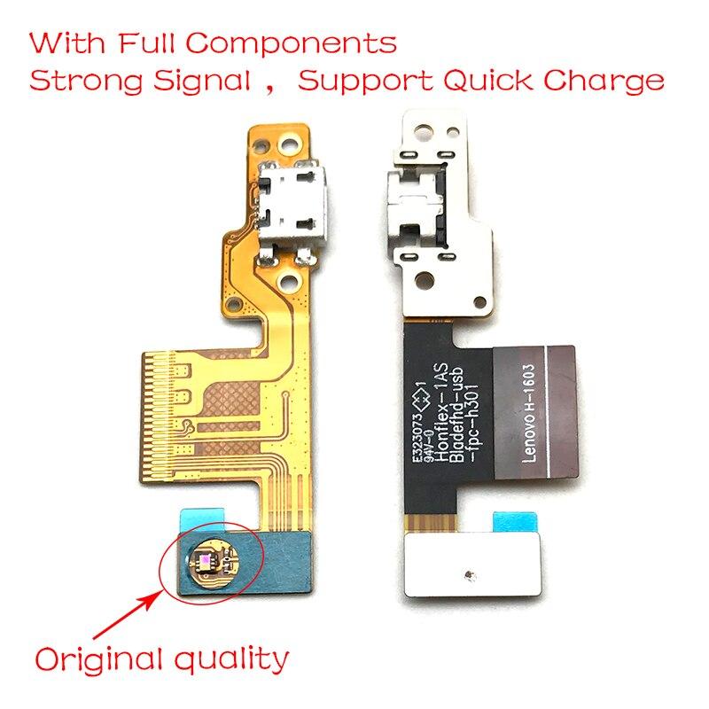 Para lenovo almofada B8080-H b8080h b8080 doca conector micro carregador usb porto de carregamento cabo flexível placa do microfone