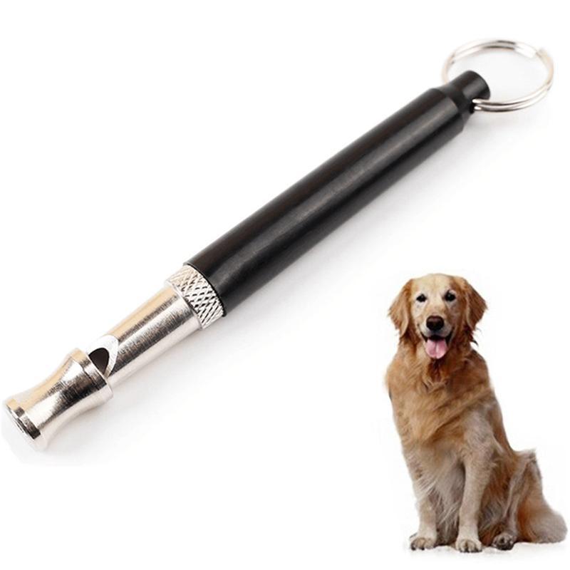 Silbato para perros para dejar de ladrar ladridos, adiestramiento de perros, silbato negro de obediencia, silbato de sonido, Silbatos de entrenamiento silenciosos, suministros para mascotas