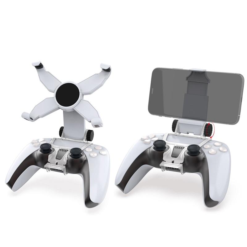 Мобильный телефон кронштейн зажим для сотового телефона зажим для Игровые приставки 5 PS5 Беспроводной геймпад с вращающийся мобильный теле...