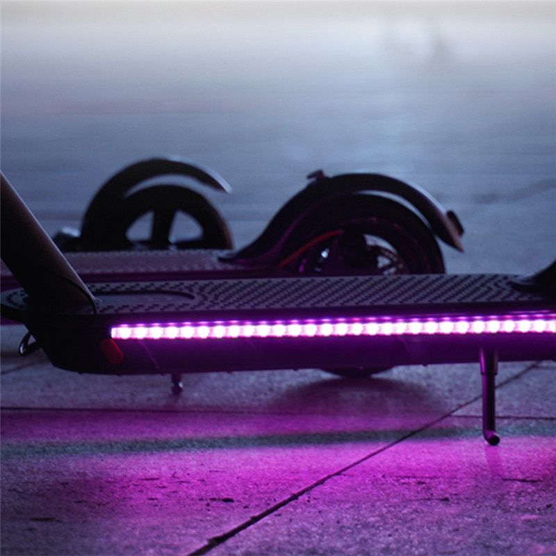 LED Strip Flashlight Bar Lamp For Xiaomi M365 Electric Scooter Skateboard Night Light New Arrival