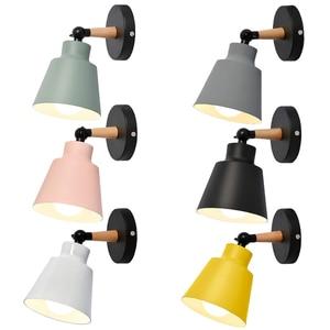 Современный настенный светильник Спальня коридор в помещении Бра прикроватный настенный светильник плагин