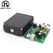 SPDIF Interface USB decoder ES9028Q2M + AD823 + SA9023  ES9038 DAC computer Sound Card headphone amplifier not need power supply
