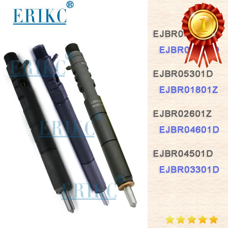 Inyector de combustible diésel CR ERIKC EJBR04701D EJBR06101D EJBR05301D EJBR01801Z EJBR04601Z EJBR02601Z 1100100-ED01 para Delphi