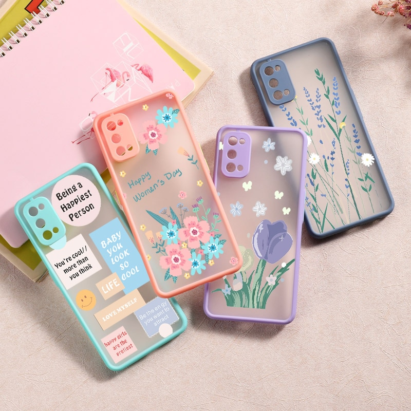 Flower Painted Case for OPPO Realme X7 X 7 Pro C17 C11 C15 6 5 A92S A52 A72 A31 A9 2020 F11 Reno 4 P