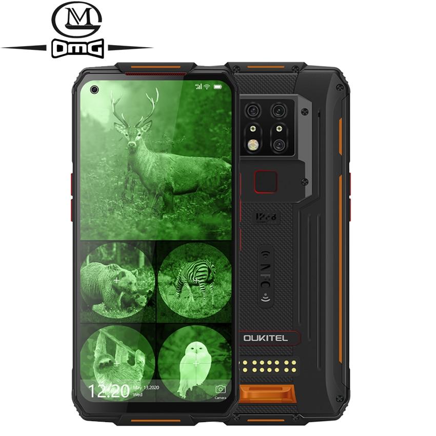 Перейти на Алиэкспресс и купить OUKITEL WP7 8000 мАч NFC 6,53 ''инфракрасное ночное видение мобильный телефон 8 ГБ 128 Восьмиядерный 48MP тройные камеры 4G прочный смартфон