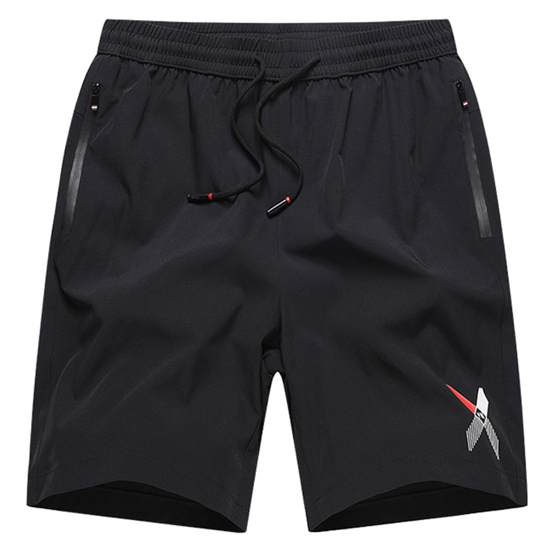 Большие размеры L-8XL 9XL 10XL мужские повседневные шорты быстросохнущие дышащие спортивные штаны для бега мужские спортивные брюки для фитнеса