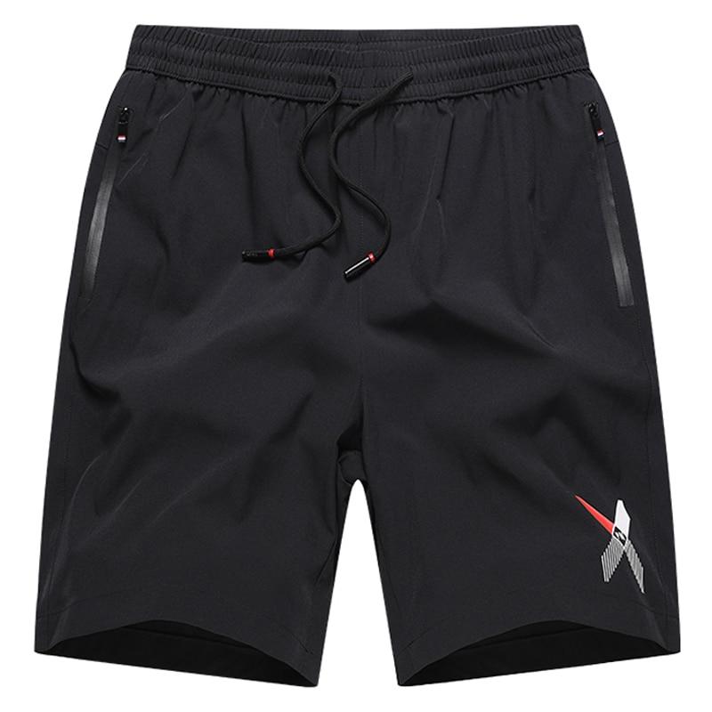 Tamanho grande L-8XL 9xl 10xl masculino calções casuais secagem rápida respirável jogger sweatpants correndo shorts masculino fitness workout calças