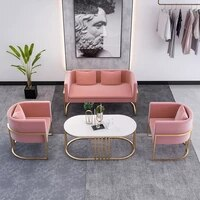 sofa simple single and 2 seat sofas living room sofa home furniture nordic lounge chairs modern business negotiation armchair