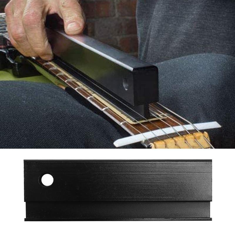 Fretbar Understring Leveler Fret Sanding Leveling Beam File Bar Luthier Tool for Guitar Bass Repair Maintenance