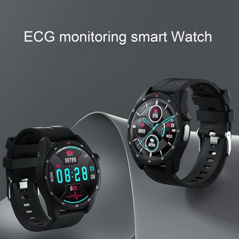 W39 ساعة ذكية الرجال جهاز تتبع معدل ضربات القلب لأغراض اللياقة البدنية النوم مراقبة مقاوم للماء Smartwatch كاميرا التحكم عن بعد