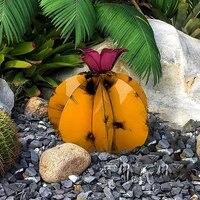Sculpture de Cactus en metal  plante Agave mexicaine  utilisee pour la decoration de pelouse exterieure  Statue de decoration de jardin pour la maison  2021