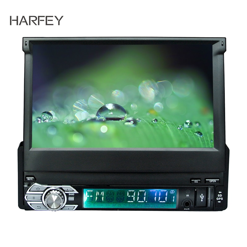 Harfey coche Universal Navi 1 DIN GPS Android 6,0 reproductor Multimedia estéreo para Nissan QASHQAI/X-TRAIL TOYOTA COROLLA Hyundai Kia