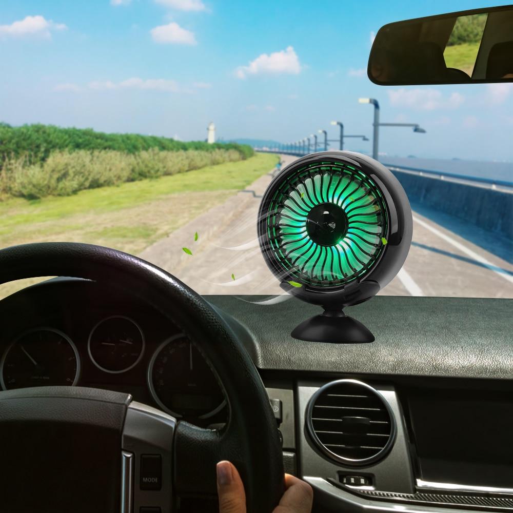 LEEPEE Air Outlet Center Konsole Auto Elektrische Fan USB Mini Fan Multi-funktion Wind Power Expansion LED Farbe Automotive liefert