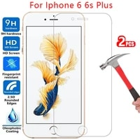 tempered glass screen protector for iphone 6 s 6s s6 plus case cover i phone 6plus 6splus protective coque bag iphone6 iphone6s