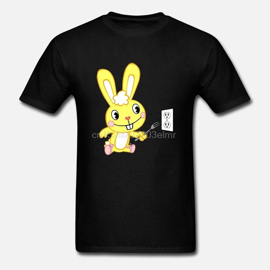 Fashion Cool Men T shirt Women Funny tshirt Happy Tree Friends - T-Shirt - Cuddles Customized Printed T-Shirt