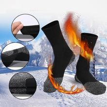 Extérieur hiver unisexe thermique travail botte chaud chaleur garde randonnée Ski Sports chaussettes travail botte chaleur chaude garde randonnée Ski sport chaussette