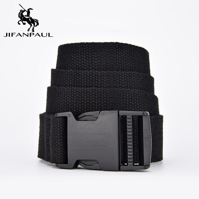 Nuevo cinturón JIFANPAUL de tela suave a la moda para mujeres, cinturón táctico del ejército, cinturón de adiestramiento al aire libre para viajes, correa ajustable para el ocio, el mejor novedoso slae