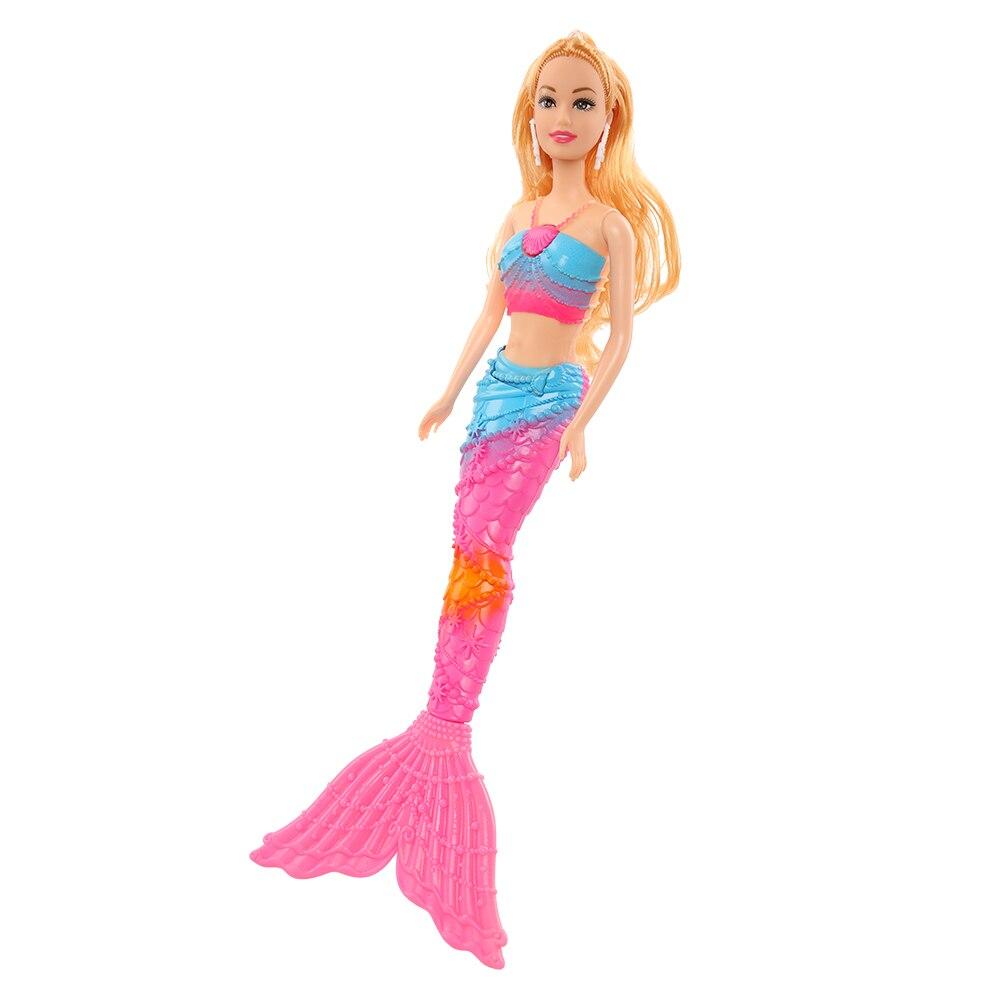 Muñeca de sirena de moda para niñas, juguete de 11,5 pulgadas, Kawaii,...