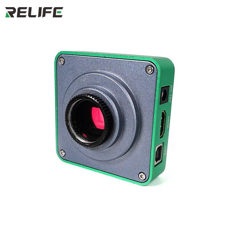 Liga de Alumínio Câmera para o Telefone Relife Milhões Pixels Hdmi Trinocular Microscópio Cpu Pcb Micro Ferramentas Reparo M-12 M-13 38