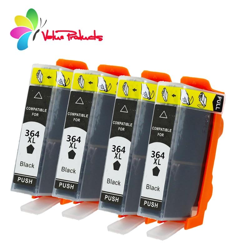 364XL HP 364 XL de alto rendimento do cartucho de tinta de impressora compatível para substituir HP Photosmart B010a B109a B209a 5510 5515 6510 deskjet