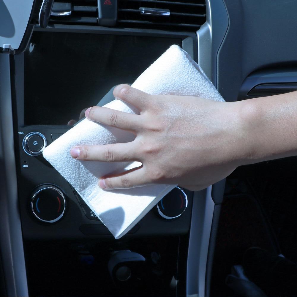 Купить с кэшбэком Car Styling Drying Car Washing Motorcycle Cleaning Natural Genuine Leather Chamois Shammy Sponge Cloth Sheepskin Absorbent Towel