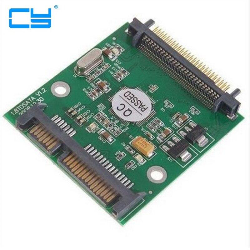 Convertidor HDD 1,8 IDE para hombre, 7 + 15 Pines, SATA, JM20330,...