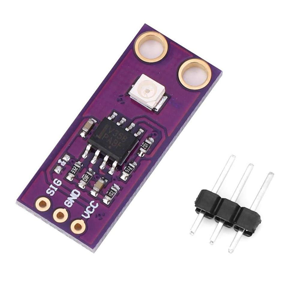 1pc GUVA-S12SD UV Detection Sensor Module S12SD Light Sensor DIY Kit Electronic PCB Board Module 240nm-370nm For Arduino 37 a sensor suite sensor module electronic module sensor robotics kit smart car