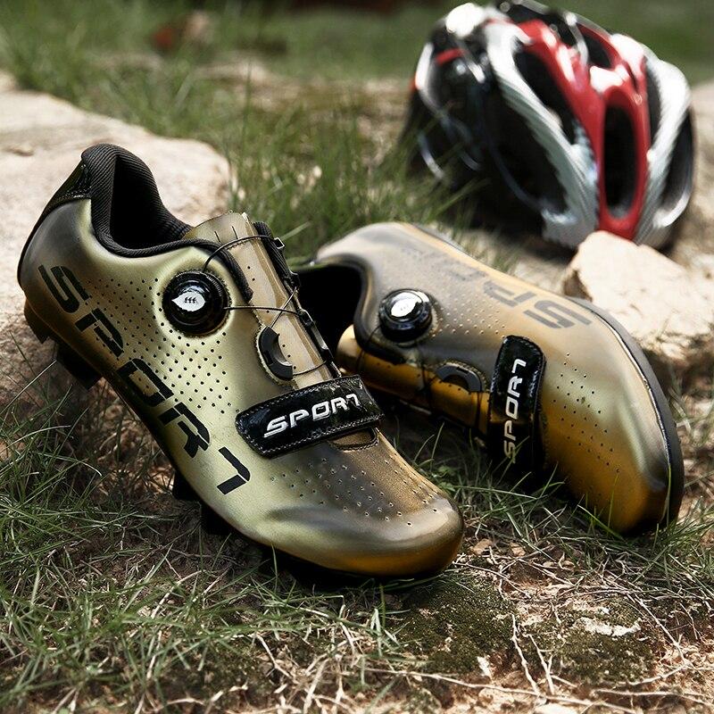 2020 Dazzling Color bike shoes Mtb Breathable autistic Spd Cleat bike Shoes Outdoor racing shoes Road bike shoes