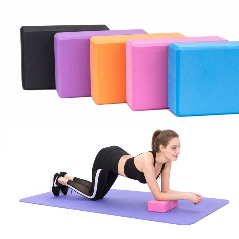 Pilates EVA Yoga Blocks Foam Brick Training Exercise Fitness Tool Yoga Bolster Pillow Cushion Stretching Body Shaping Yoga Block camouflage yoga blocks eva foam fitness brick for sports pilates gym exercise stretching
