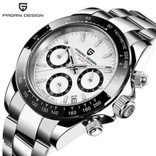 PAGANI DESIGN 1644 Mens Watches Quartz Business watch Auto Date Mens Watches Japan Movt Watch Men Chronograph Relogio Masculino
