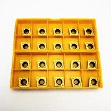 CCMT09T304 VP15TF/UE6020/US735 inserts en carbure outil de tournage interne CCMT09T304 visage fraises outils de tour fraise CNC
