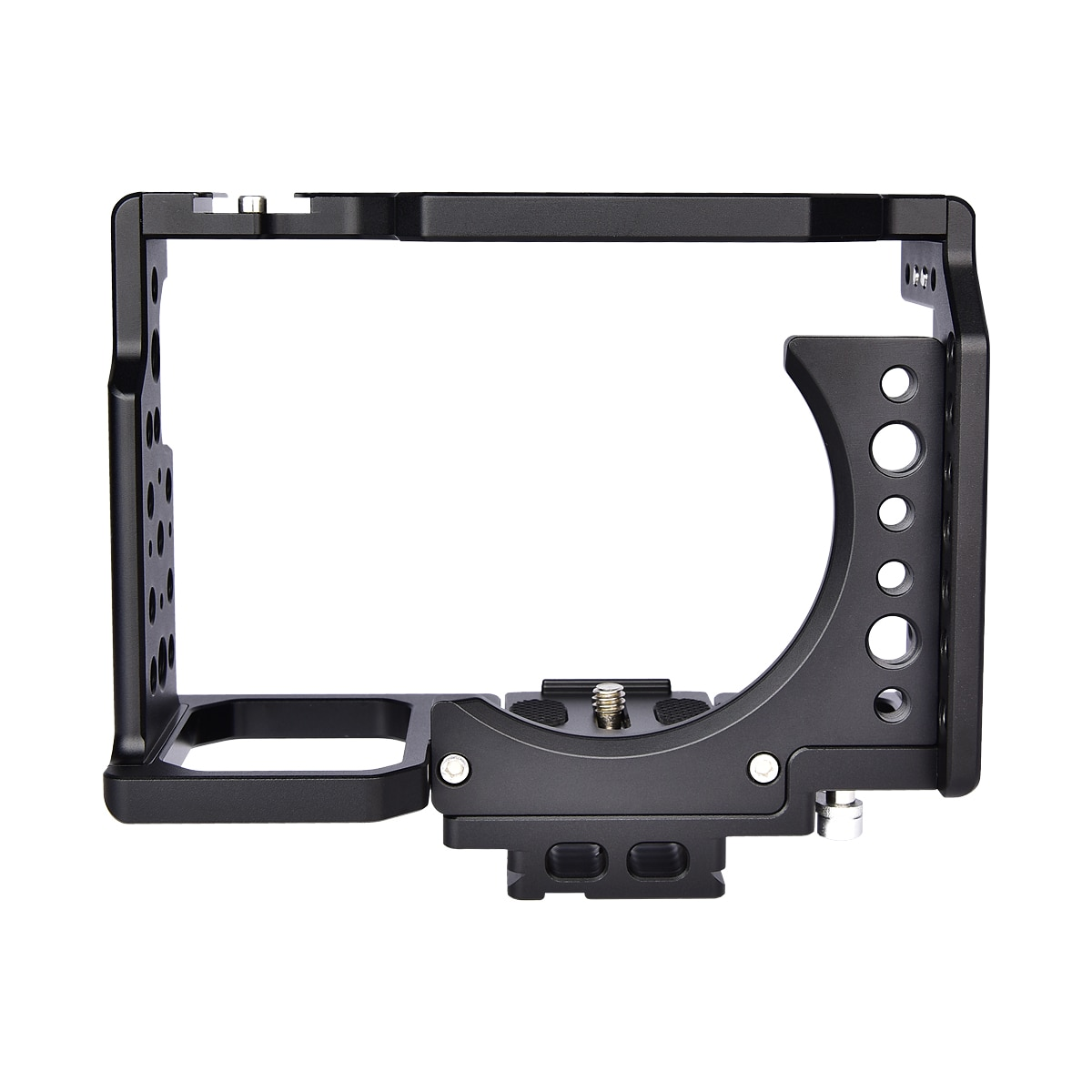 Yelangu Ca7-B Camera Cage Extension Frame for Sony A7 Series Cameras Aluminium Alloy for Sony A7 Camera Cage enlarge