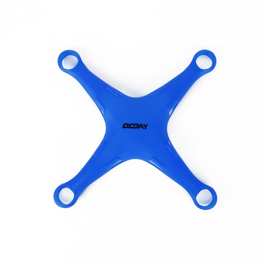 OCDAY Waterproof Dustproof Splashproof Drone Body Soft Wrap Silicone Fuselage Protective Cover For DJI Phantom 3