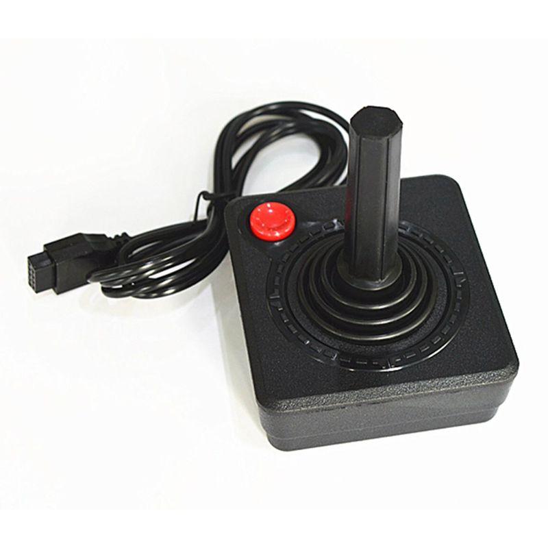 Controlador de Joystick Retro clásico Ruitroliker Gamepad para el sistema de consola Atari 2600 negro 35EA