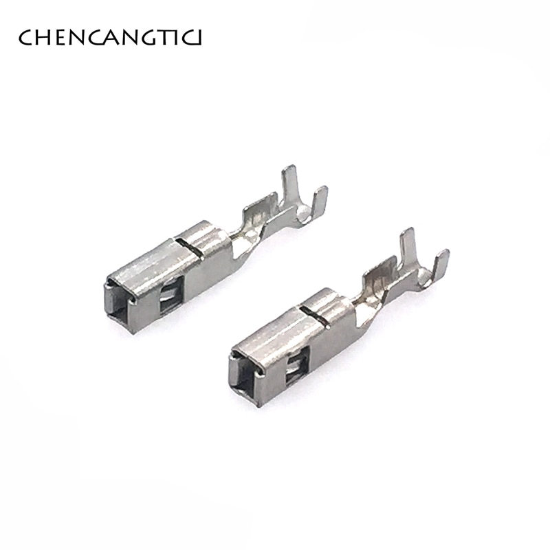 50 peças de bronze friso fio terminal g342 fci 2.8mm série pinos grandes para conector automotivo 211pc249s8005 211 pc249s8005