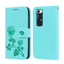 Smartphone PU Leather Wallet Shell Flip Phone Back Cover For Xiaomi Mi 10S M2102J2SC 5G Case