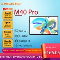 teclast m40 pro tablets 10 1 tablet 1920x1200 6gb ram 128gb rom unisoc t618 octa core android 11 4g network dual wifi tablet