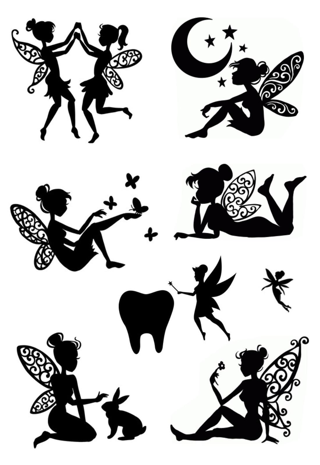 KLJUYP Fairy maiden Clear Stamps Scrapbook Paper Craft Clear stamp scrapbooking
