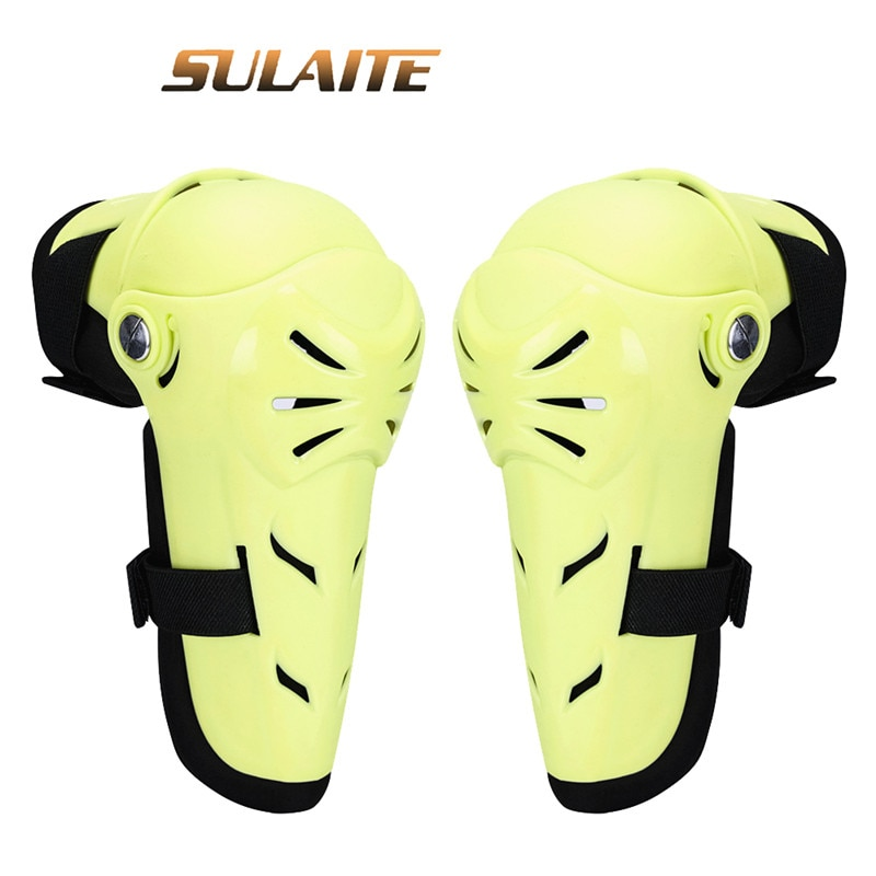 SULAITE 4Pc Motorcycle Knee Protector Protective Gear Knee Guards Kit Kneepad Free Riding Thickening Protection Moto Accessories enlarge