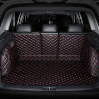 3d full covered no odor waterproof carpets durable special car trunk mats for ford everest explorer mustang expedition