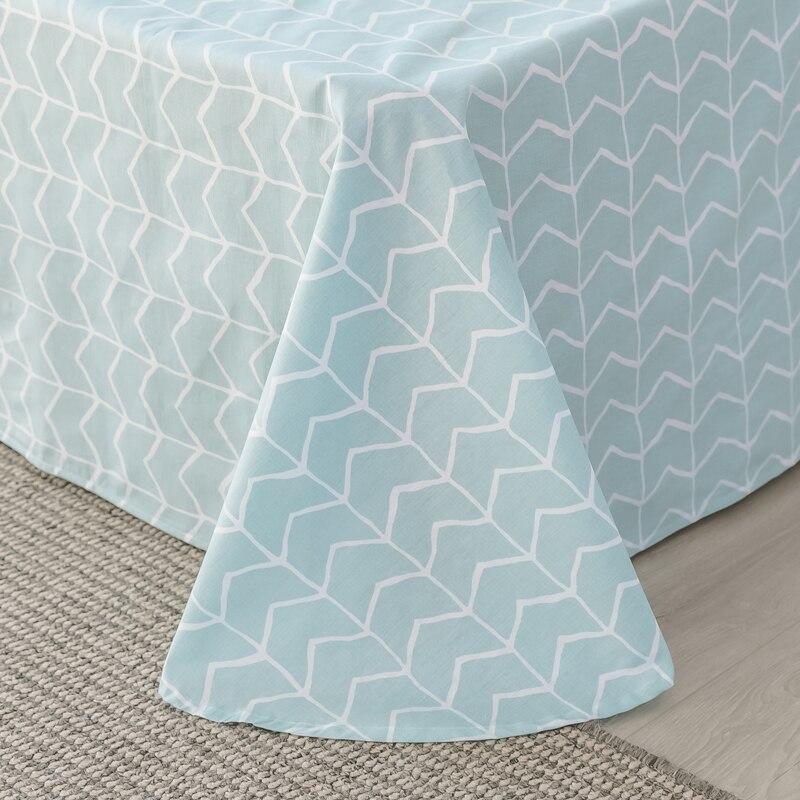 15 Colors Catcus Flowers 100% Cotton Cartoon Style 4pcs quilt cover flatsheet pillowcases set US twin Queen Size