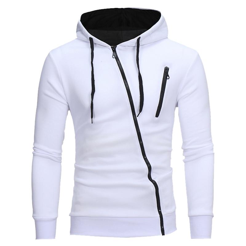 Mjartoria 2020 outono moda casual sólido hoodie moletom com capuz poluir moletom com capuz pullover com zíper blusa plus size