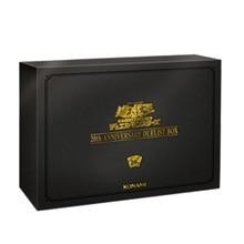 Yu Gi Oh 20th Anniversary Geschenk Box 20th Duel Luxus Geschenk Box Japanischen Echtem Stahl Platte Spiel Sammlung Animation Karte