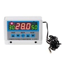 Thermostat numérique à ca 220V 6600W LCD 30A régulateur de température interrupteur Thermostat de sortie directe avec capteur NTC