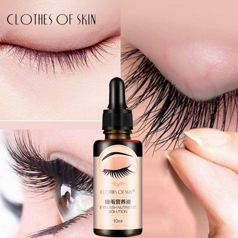 Sérum de vitamine E pour la croissance des cils, soin nourrissant liquide pour les yeux